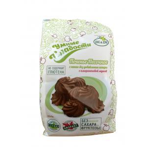 Печенье песочное с какао,