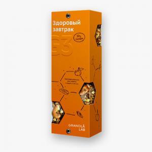 LEMMA.CENTER - Гранола-бокс G3 «Ореховая формула» (6 порций, 360 г)