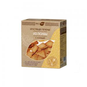 Печенье хрустящее из полбы с корицей, ВАСТЭКО (170 г)