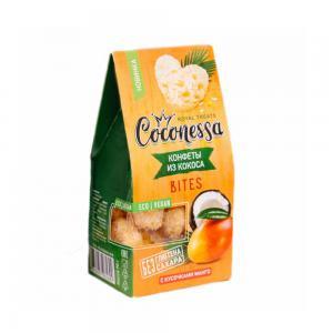 Конфеты из кокоса с кусочками манго (Coconessa, 90 г)