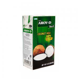 Молоко кокосовое AROY-D (500 мл)
