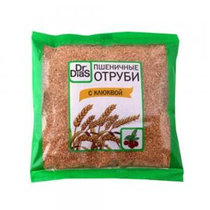 Отруби пшеничные с клюквой, Dr.Dias (200 г)