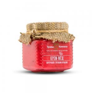 Крем-мёд с лесными ягодами,