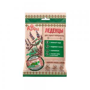 Леденцы живичные «Радоград» с мятой и ментолом в саше-пакете (10 шт)