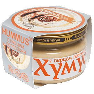 Хумус с перцем пепперони (200 г)