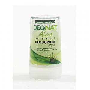 Дезодорант-кристалл с Алоэ, DeoNat (40 г)