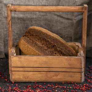 Хлеб «Бородинский» подовый ремесленный, Био-Хутор (400 г)