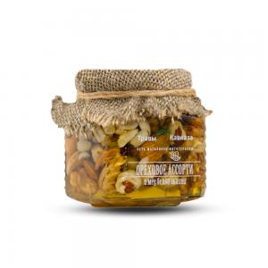 Ореховое ассорти и мёд белой акации,