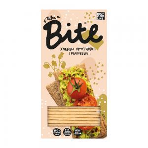 Хлебцы хрустящие гречневые, BITE (150 г)