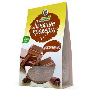 Льняной крекер с шоколадными каплями,