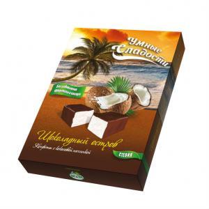 Конфеты с кокосовой начинкой