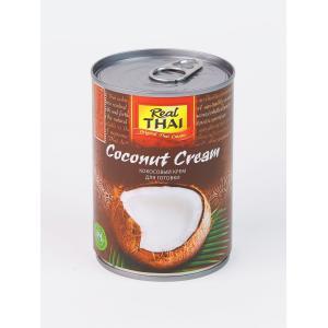 Кокосовый крем 20-22% жирность, REAL THAI (400 мл)