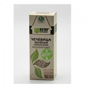 Чечевица зелёная экологический продукт,