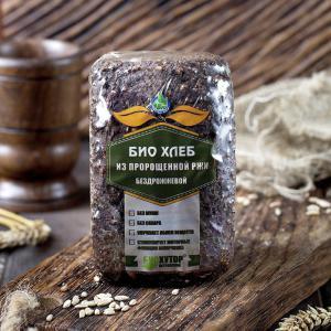 Хлеб из пророщенной ржи бездрожжевой, Био-Хутор (500 г)