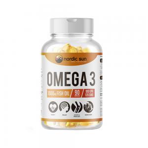 Омега-3 1000 мг, NORDIC SUN (90 кап)