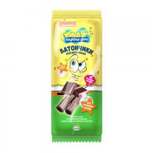 Батончики безглютеновые Губка Боб с шоколадной начинкой (20 г)