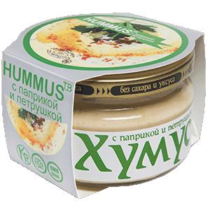 Хумус с паприкой и петрушкой (200 г)